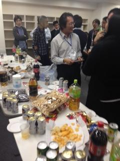 ESOTパーティー。システム開発が一段落。
