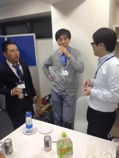 ESOTについて語り合うシステム開発者たち